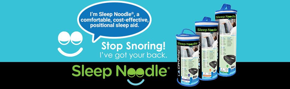 Anti-Snore, Sleep Noodle