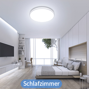 Plafonnier LED moderne pour salle de bain, cuisine, salle à manger, salle de bain.