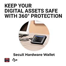 SecuX W10 Crypto-Asset Hardware Wallet - The Ideal Solution for Safely Storing Your Bitcoin