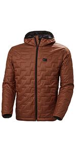 HH Mens Lifaloft Hooded Insulator Jacket