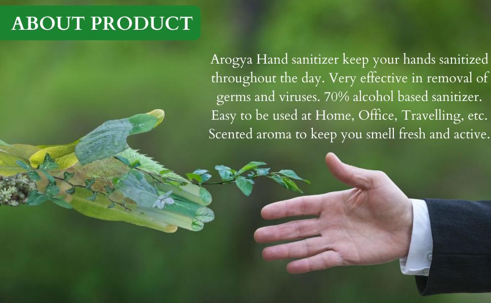 About Arogya Hand Sanitizer
