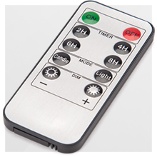remote control with timer setting turn candles touch button night christmas spooky warm nice