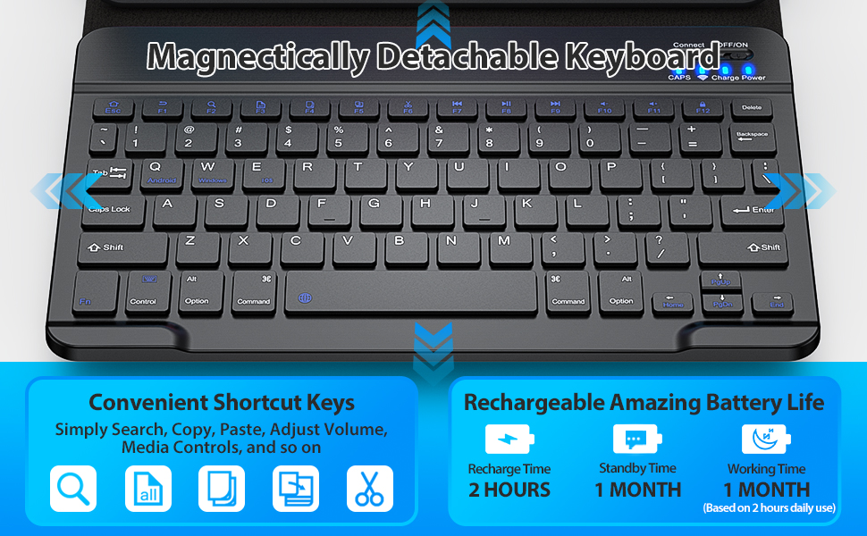 ipad pro 11 inch case with keyboard