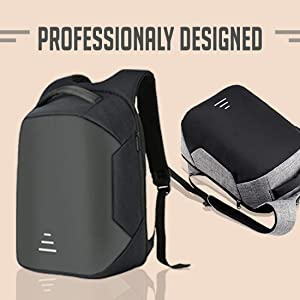 STEEZE Anti Theft Casual Multipurpose Laptop Backpack Bag with USB Charging Port for Men/ SPN FOR 1