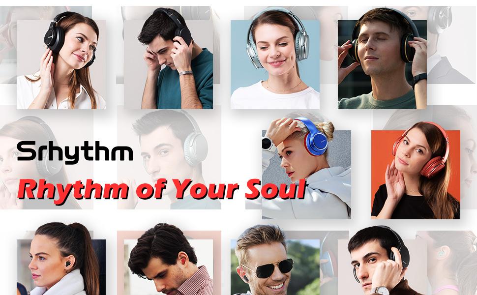 Srhythm noise cancelling headphones