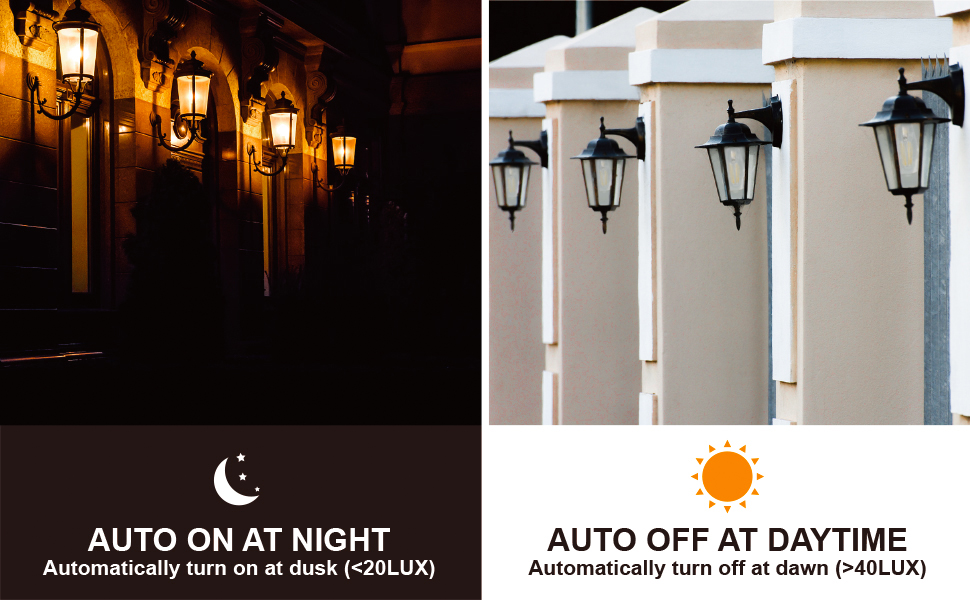 dusk to dawn light bulbs outdoor
