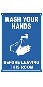 Germs wash hands corona virus hygiene sign cleanliness sanitary rules prevent virus wash