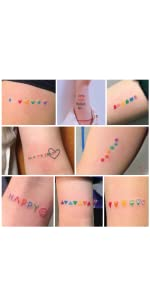 Amazon.com : Everjoy Realistic Tiny Temporary Tattoos - 60 ...