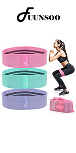 Fabric Workout Bands