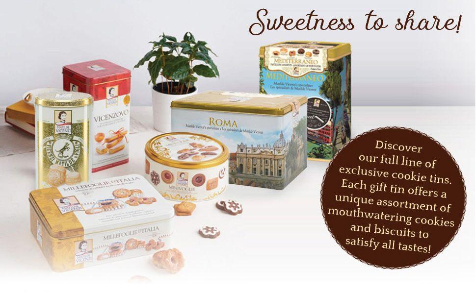 cookies, cookies variety pack, cookies gift basket, gourmet cookies, ladyfingers cookies
