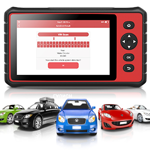 LAUNCH CRP909 Automotive OBD2 Scanner 7 inch Touch Screen Android Diagnostic Tablet Full-System Car Code Reader Auto Engine ABS Airbag Transmission ...