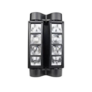 Betopper Moving Head Light 8 x 3W RGBW DJ light Quick Dual Sweeper Stage Light Party Light Dmx Light