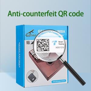 Anti-counterfeiting QR Code