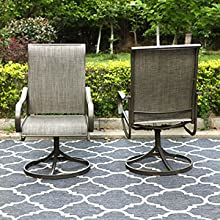 outdoor swivel chairs