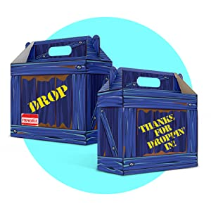 fortnight birthday party supplies fortnite gift bags fortnite supply drop box fortnite supply drop