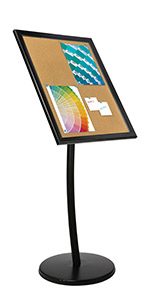 SHOWBOARD ON CURVED POST