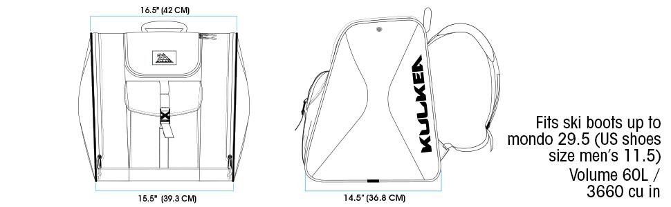 talvix boot bag gear