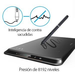 digitalizadora inalambrica  XP-Pen Star 05 V2 Inalámbrica Tableta Grafica Digitalizadora 8×5 Pulgadas 8192 Niveles Lápiz Pasivo con Teclas de Acceso Rápido 91a8b416 ed09 4370 8e86 764566915be2