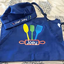 personalized chef apron