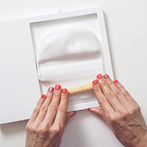 knead framed home paint her make wall decor thank display friends capture shower grandparent feet