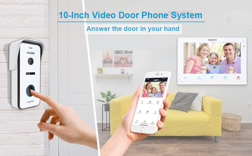 10-Inch Video Door Phone