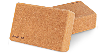 yoga block cork set of 2