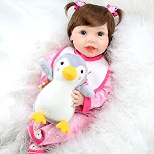 Aori Reborn Baby Doll with Penguin