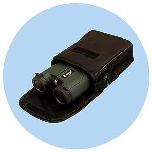 Levenhuk Karma PRO Binoculars: nylon pouch