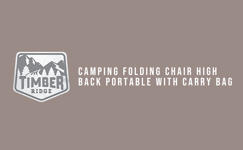 camping folding chair