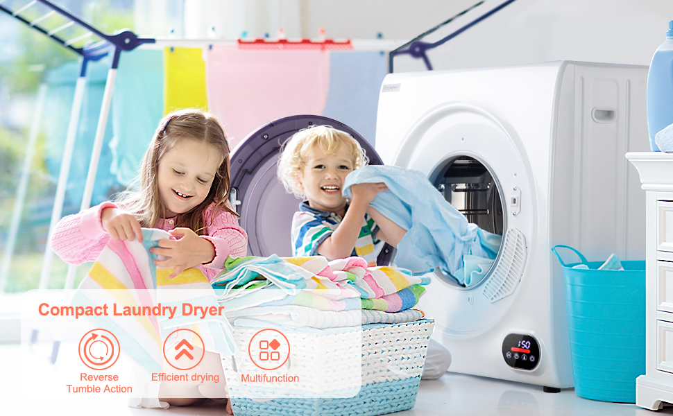 Compact Laundry Dryer