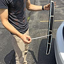 Image Instructing How To Remove The 3M Tape From Bumper Cover