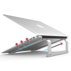 laptop stand gray
