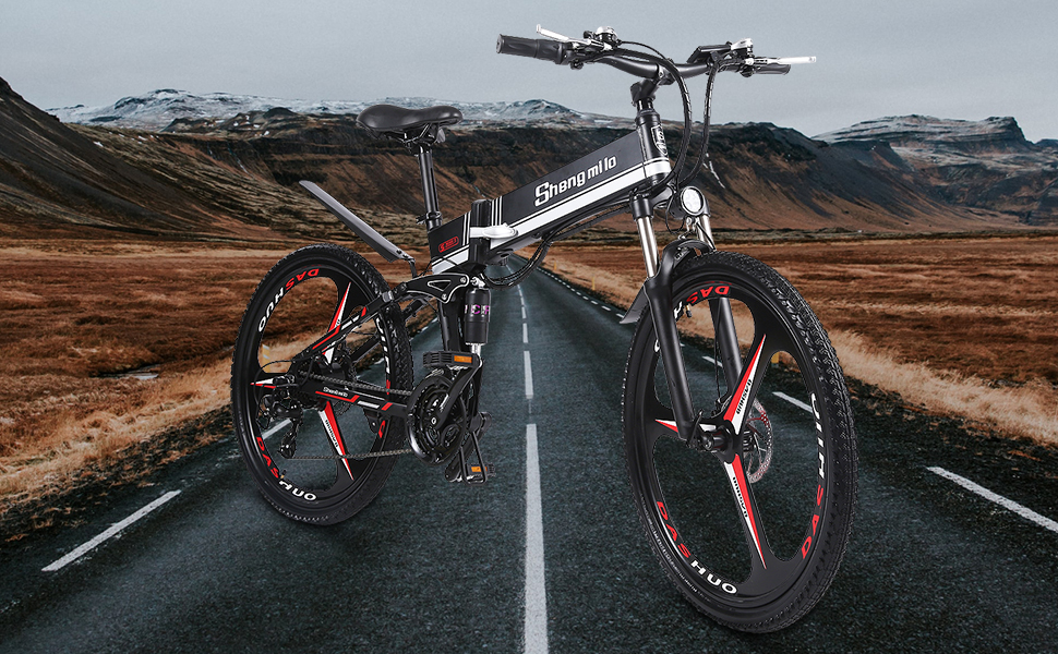 Bicicletta elettrica pieghevole M80-Shengmilo