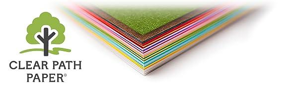 clear patah paper cardstock warehouse darice