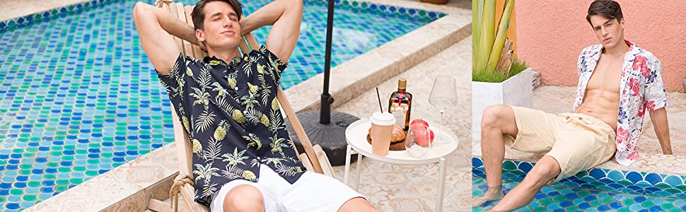 men's hawaiian shirt pineapple,tropical shirt,mens hawaiian shirt,mens floral shirt,hawaiin shirt