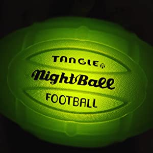 tangle nightball basketball football glow led lightup sports outdoor accessories