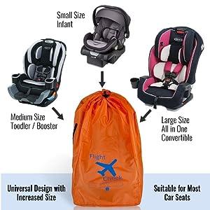 car seat travel bag infant carrier, car seat travel bag for airlines
