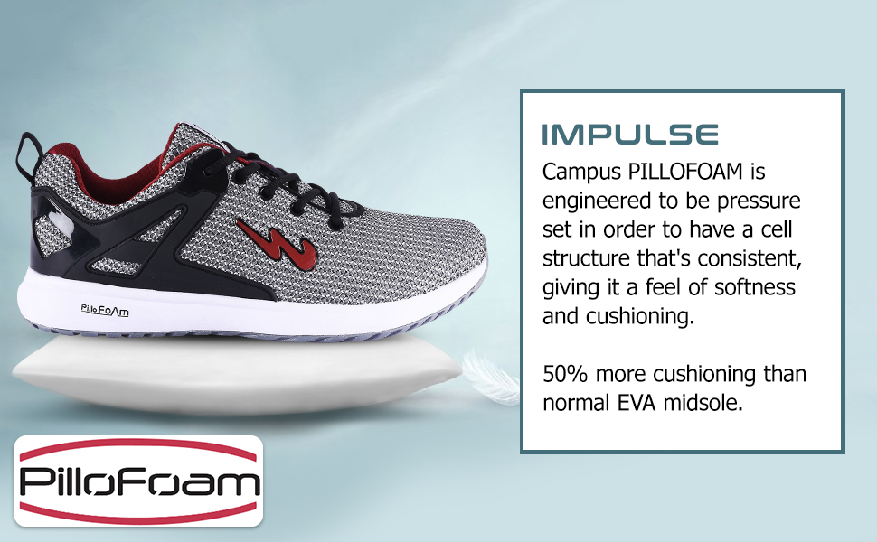 Campus PILLFOAM is Engineered to be Prrssure set in Order