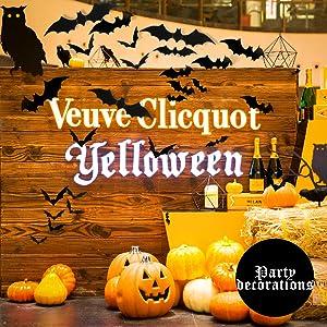 Halloween Eve DIY PVC 3D Bats Stickers