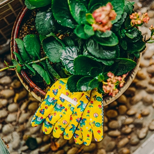 Kids gardening gloves comfortable breathable gloves