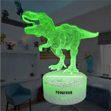 t-rex dinosaur night light for boys Christmas birthday gifts dinosaur theme bedroom decor for boys