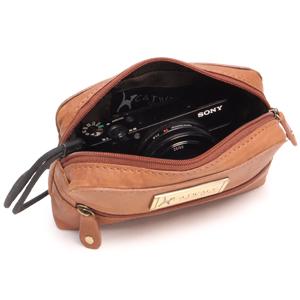 Savannah leather camera case