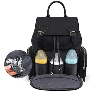 Hamfall Nappy Backpack with 3 Insulated Pockets