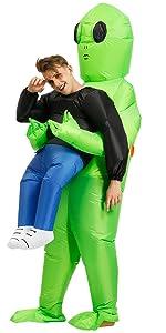 Amazon.com: AOGU Inflatable Dinosaur Riding T-REX Costume ...