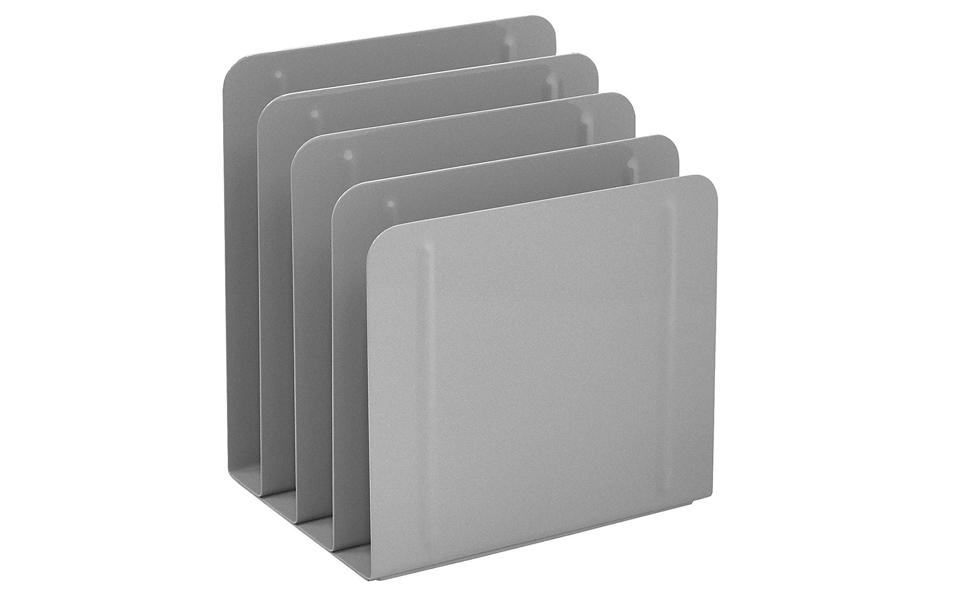 ART21009C Artistic Contemporary Mesh Metal Desktop File Sorter Black