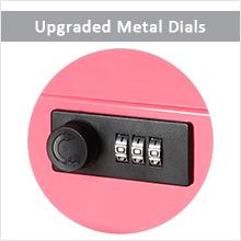 Upgraded Metal Dials