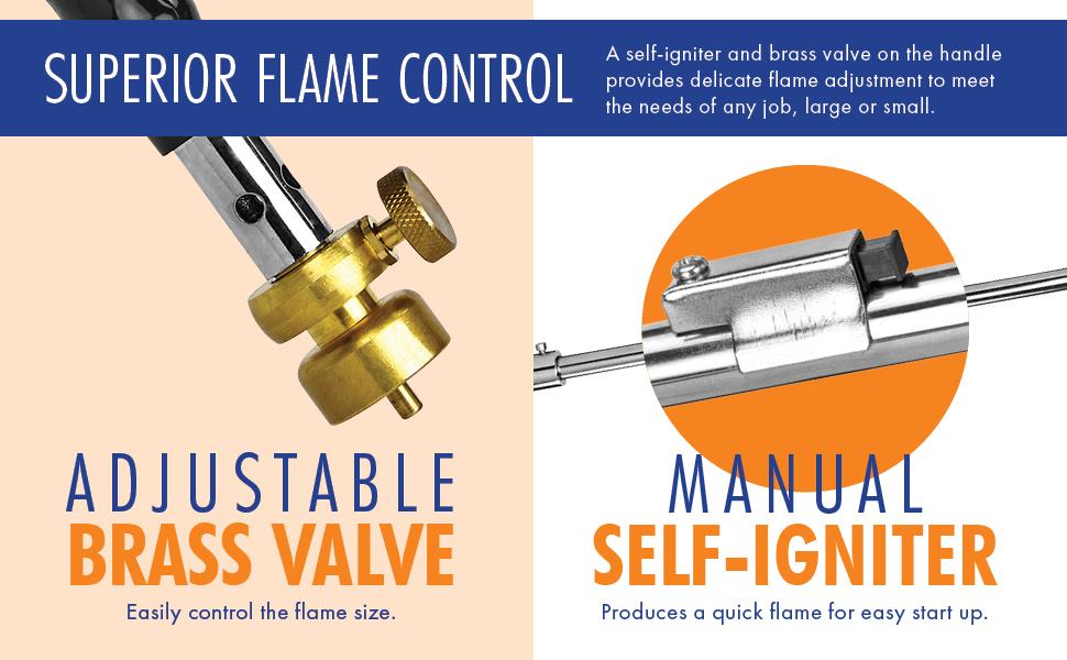 Superior Flame Control