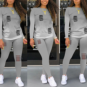 grey tracksuits