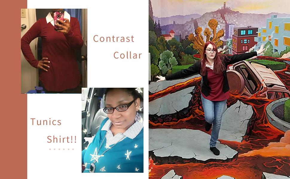 women tunics shirts for women office work for leggings