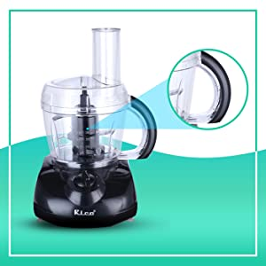 UNBREAKABLE PROCESSING BOWL WITH EASY GRIP